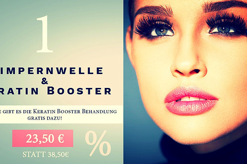 Wimpernwelle & Keratin Booster