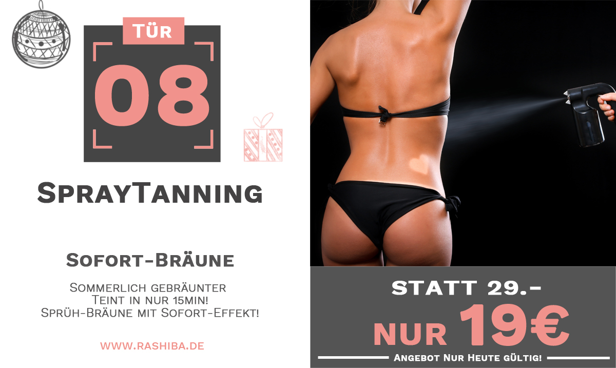 Tür 08 - Spray-Tanning