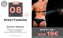 Tür 08 - Spray-Tanning