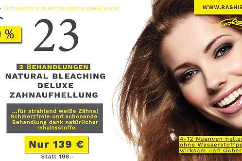 2 x Natural Bleaching Deluxe - Zahnaufhellung