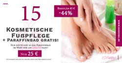 Tür 15 - Kosmetische Fußpflege