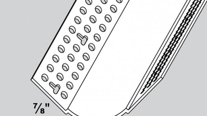 ПРОФИЛЬ TRIM-TEX 90º ВНУТРЕННИЙ УГЛОВОЙ  ЗАКРУГЛЕННЫЙ 19 мм. ART.7210