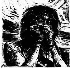 Kim Addonizio woodcut by Charles Jones