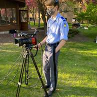 Thomas Lund on camera 1