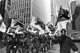 Black Panthers Protesting