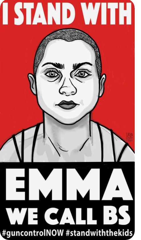 Emma Gonzalez Poster