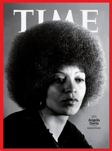 Angela Davis on TIME Magazine