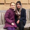 Greta Thunberg & Malala Yousafzai