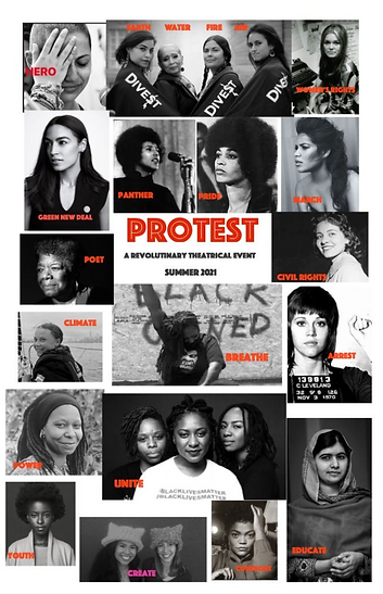 Protest First Poster