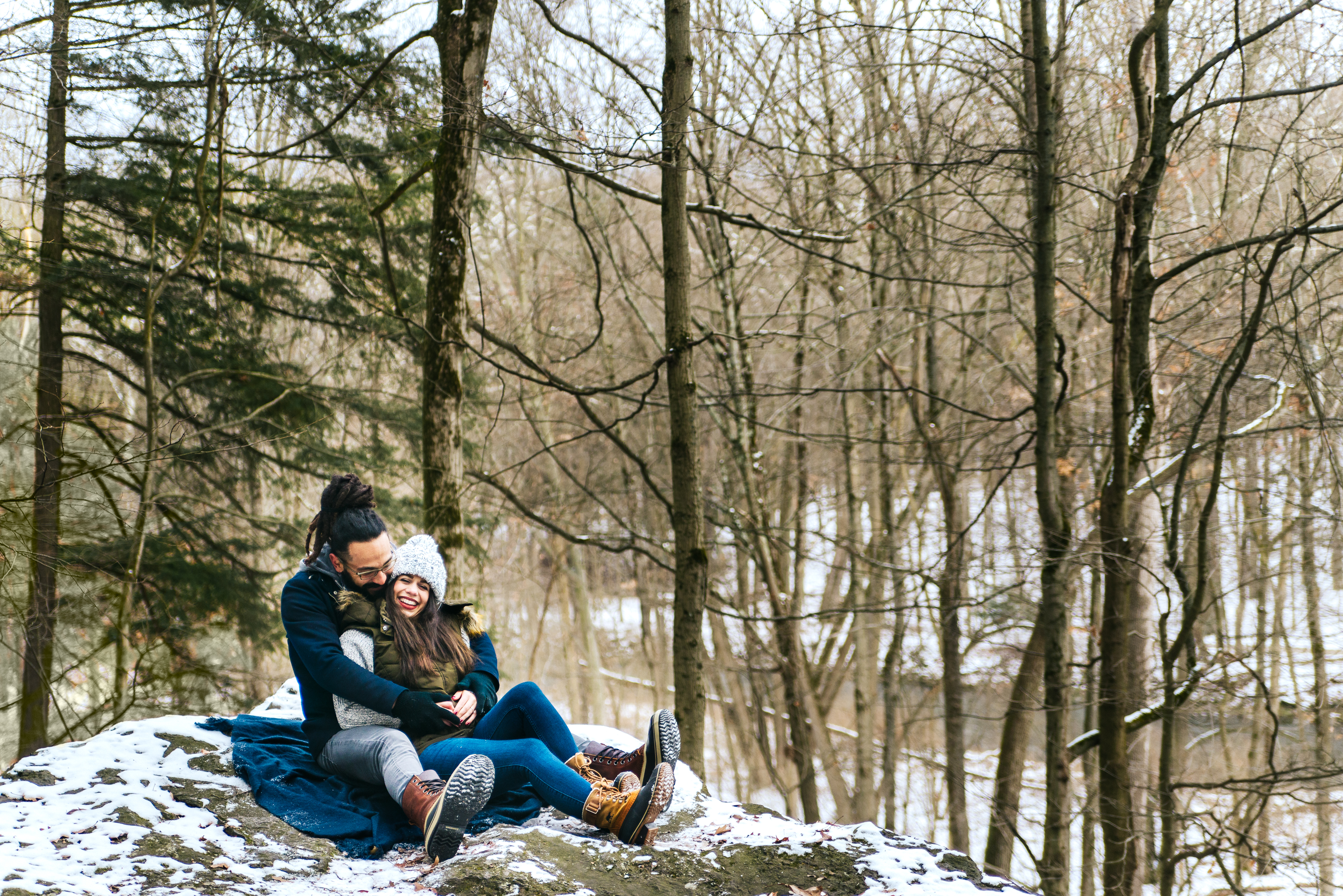 Mill Creek Park Engagement Session