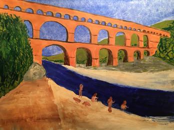 12e étape: Vers-Pont-du-Gard