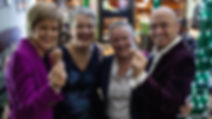 Nicola Sturgeon and Patrick Harvie attend Socotland's first lesbian wedding