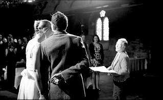 Cathy and Ian married in Cottiers