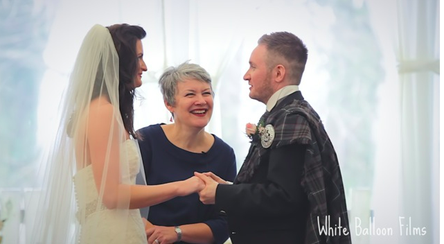 A very personal wedding in Scotland 2015