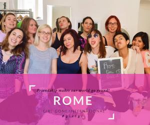 Meet New Friends at Rome Girl Gone International