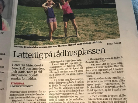 Latteryoga på Stjørdal