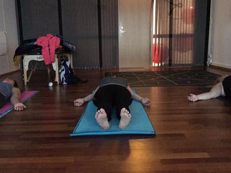 Fikk yoga i bursdagsgave!