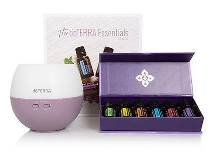 doterra essential aromatics diffused.JPG