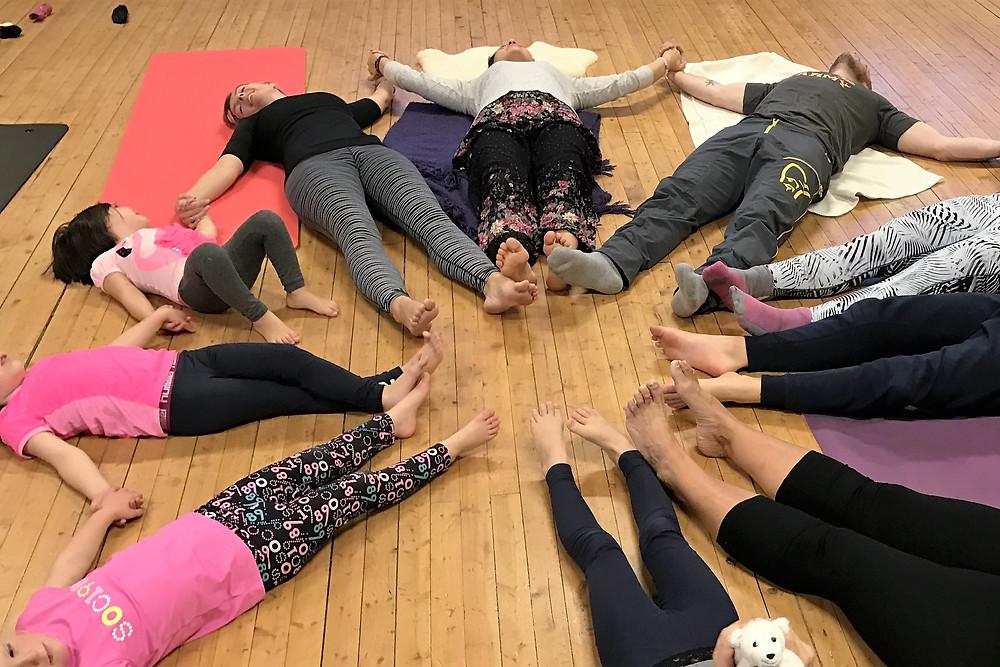 Vannlilje yoga