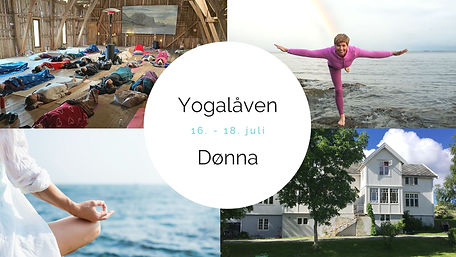 Yogahelg på Dønna 16.-18. juli 2021