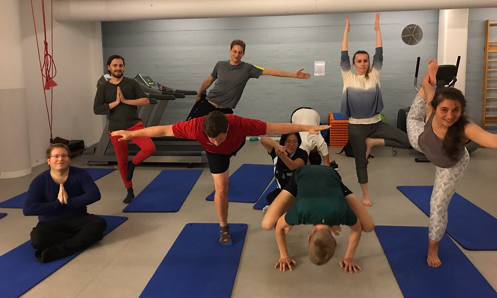 Yoga hos Telenor