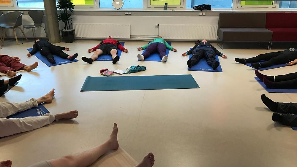 Yoga i arbeidstia er populært
