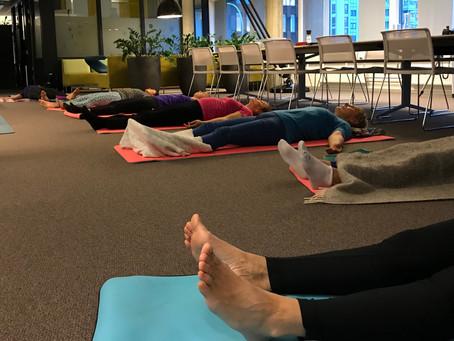 Onsdag = Yogatime med Merethe!