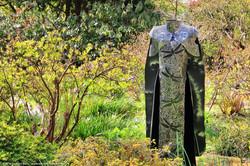 Bev Petow sculpture - The Dragon Aunt
