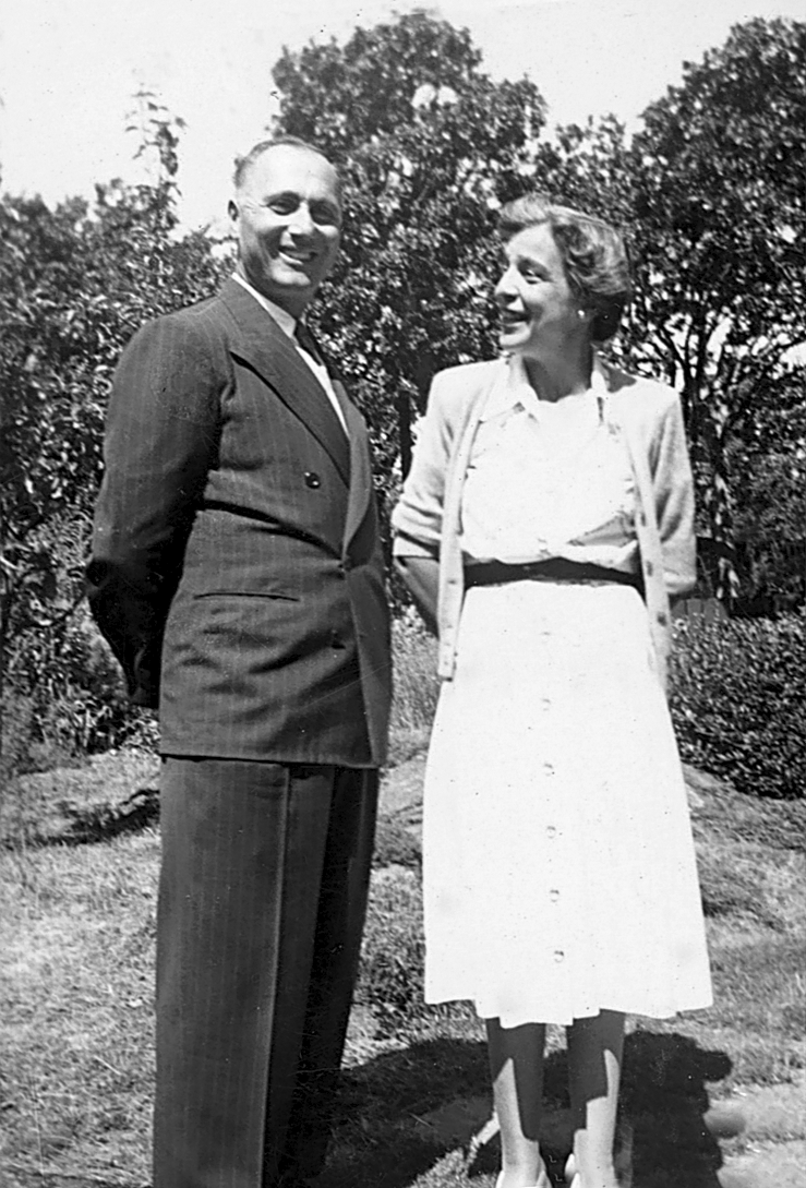 Nicholas and Peggy Abkhazi