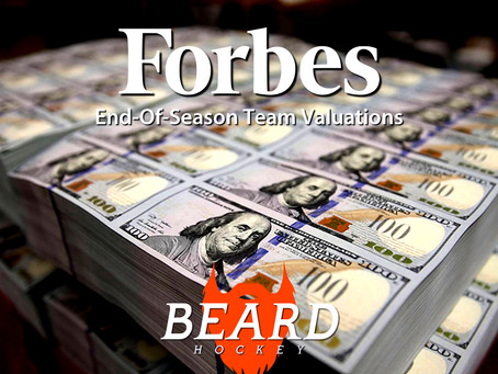 Forbes BEARD Hockey Valuations, End Of Year Edition