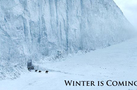 There's a cold winter coming...