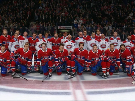 The Canadiens are going for gold (and silver)