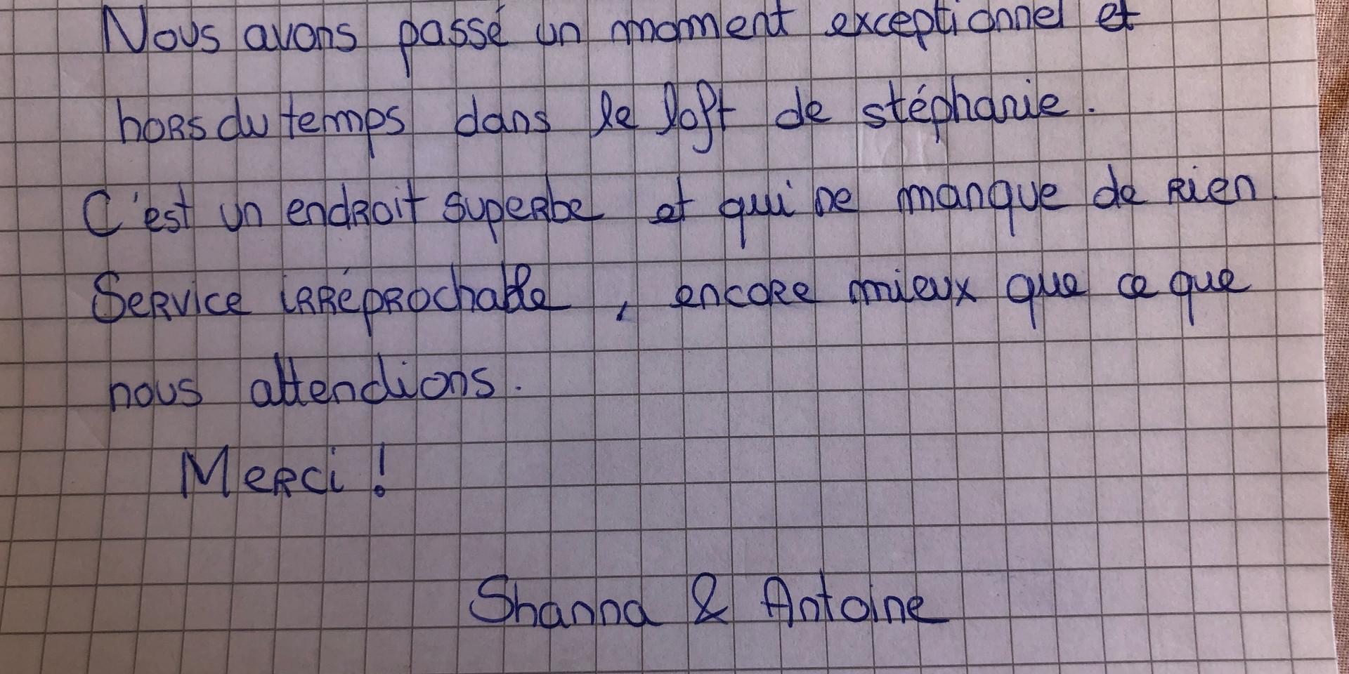 Shanna & Antoine