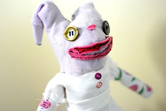 DSC_0019 2_edited.jpg, custom made rag doll, teesox, one of a kind doll, etsyshop, eco friendly, stuffed bunny