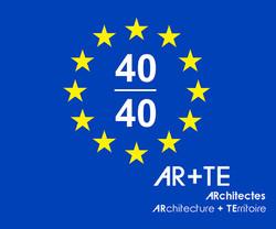 40 under 40 Carlos BARBA AR+TE logo