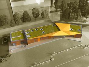 Club house au Stade de Football