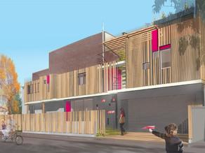 Restructuration et extension d'une maison de ville
