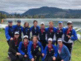 North Bay Rowing Club, Teri Drobnick, Covered Bridge Regatta, Teammated, Rowing, Sweep rowing, Master's rowing