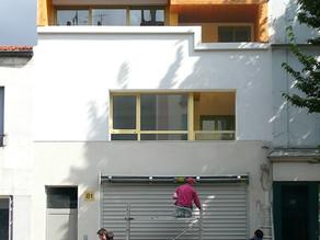 Surélévation d'un immeuble de deux logements sociaux