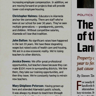 From Alameda Magazine