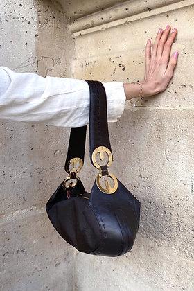 V I N T A G E | Sac Baguette monogramme Escada