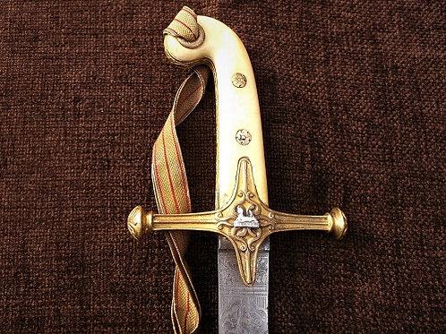 Victorian Mameluke sabre to 11th Hussars