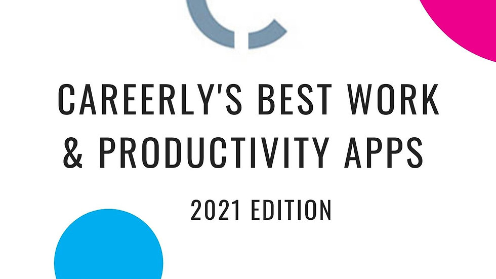 Careerly Best Work Apps 2021