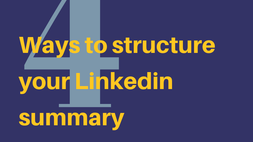 How to Write Your LinkedIn Summary