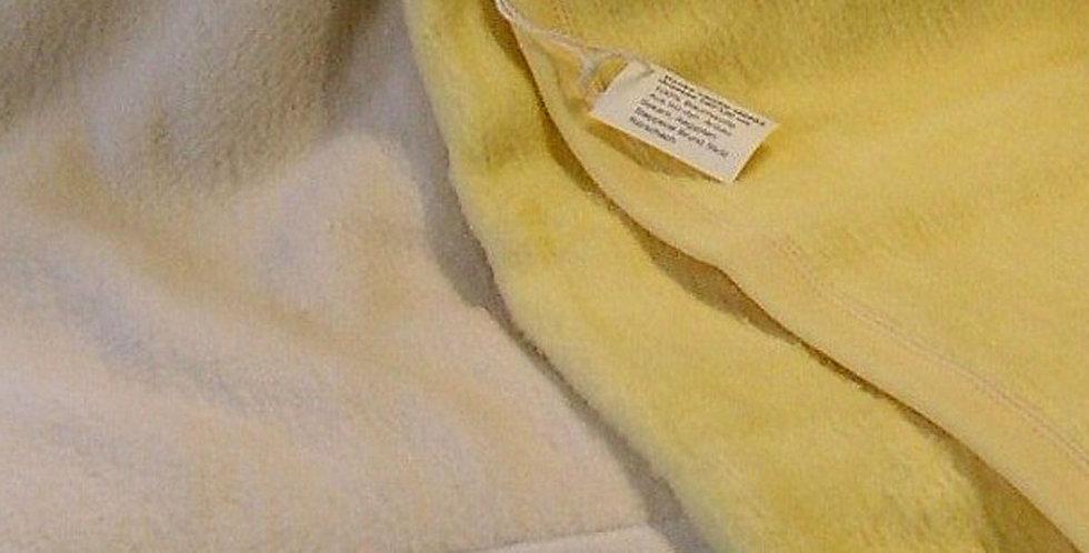 Flauschige Baumwolldecke, Demeter