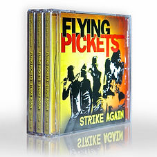 "Flying Pickets new album ""Strike Again' is out now!"