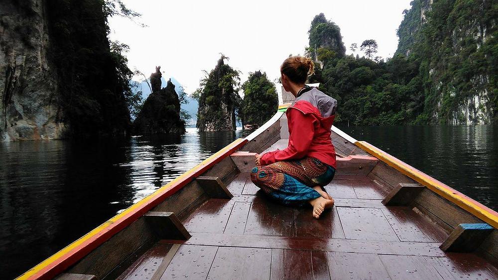On a recent rainy trip to Phang Nga - still beautiful!