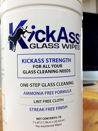 KickAss Glass Wipes