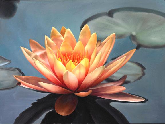orange lotus