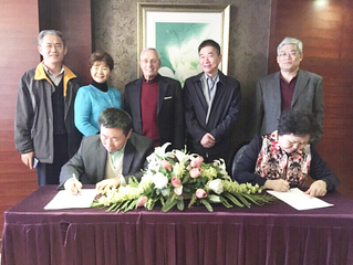 Jinan City Signed a Long-term Cooperation Agreement with USCEC 中国山东省济南市与协会签署长期合作协议